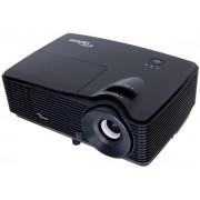Videoproiector Optoma S311, 3200 lumeni, 800 x 600, Contrast 20000:1, 3D, 2 x HDMI + Suport Proiector Blackmount EATV2, reglabil 43 - 65 cm, Negru