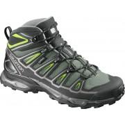 Salomon X Ultra Mid 2 GTX Hiking Shoes Men bettle green/black/spring green 46 2/3 2017 Multifunktionsschuhe