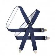 Bretelles unies, bleues