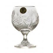 Monika set 6 pahare cristal brandy 250 ml