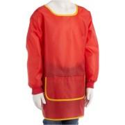 Idena 611186 artisanat Tablier - 7-8 ans, Red