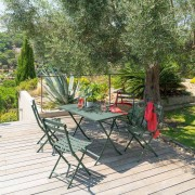 Hespéride Table Pliante Rectangulaire Greensboro kaki Jardin