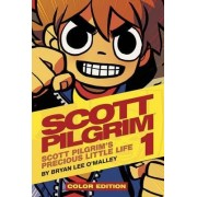 Scott Pilgrim Color: Precious Little Life Volume 1 by Bryan Lee O'Malley