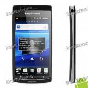 "Sony Ericsson LT18i Arc S Android 2.3 WCDMA Smartphone w / 4.2 ""capacitif, une connexion Wi-Fi et GPS - Noir"