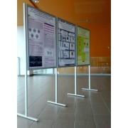Ścianka ekspozycyjna ELLA 3 x A1 - jednostronna Ekspozycyjna ścianka ELLA 3xA1