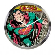 Relógio de Parede Super Homem Quadrinhos HQ DC Comics