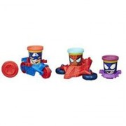 Set Jucarii Play-Doh Marvel Can Heads Vehicles