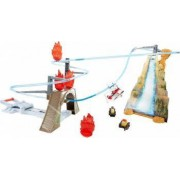 Playset Fire And Rescue Mattel Disney Avioane