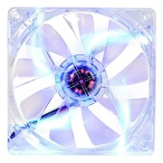 Thermaltake 120mm Blue LED Case Cooling Fan CL-F012-PL12BU-A