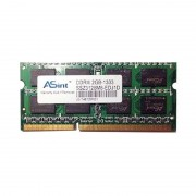 2Go RAM PC Portable SODIMM ASint SSZ3128M8-EDJ1D PC3-10600S DDR3 1333MHz CL9