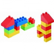 19 pieces included-This construction set is ideal for children who are going to do their first constructions developin
