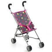Bayer Chic 2000 601 24 - Mini-passeggino per bambole, modello Roma, Rosa (Funny Pink)