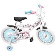 Sello de 16 pulgadas de Disney Minnie Mouse Mash-Up Bike con rodamientos a bolas Llantas / Acero