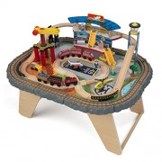 Kidkraft - 17564 - Ensemble De Train Et Table - Transportation Station