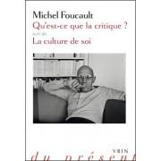 Qu'est-Ce Que La Critique? by Michel Foucault
