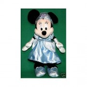 Disneyland Walt Disney World Minnie Mouse Dressed As Cinderella Plush Soft Toy 11 by Disney