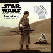Star Wars the Force Awakens: Read-Along Storybook and CD by Disney Book Group