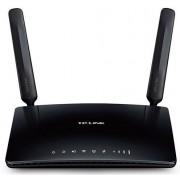 Router Wireless TP-Link Archer MR200, Dual band, 750 Mbps, 3 Antene Wi-Fi interne, 2 Antene 4G LTE detasabile