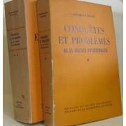 Conquêtes Et Problèmes De La Science Contemporaine Tomes I Et Ii