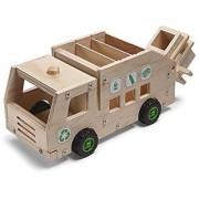 Red Tool Box Recycling Truck Building Kit