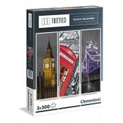 Clementoni - 39306.0 - Puzzle Triptyque - Londres - 3 x 500 pièces