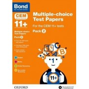 Bond 11+: Multiple-Choice Test Papers for the CEM 11+ Tests: Pack 2 by Michellejoy Hughes