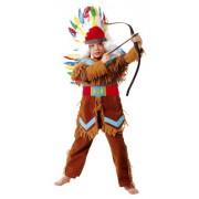Cesar A815-003 - Costume da capo indiano, 8/10 anni