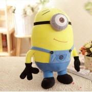 Smiling Stuart Yellow Minion Soft Plush Toy