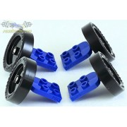 PRO Brick - Wheel - Axle Assembly for LEGO (R) Derby Car Racing (set of 4)