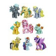 My Little Pony Friendship Is Magic Minis Set of 9 - Daring Pony Story, Ponyville Newsmaker & Soaring Pegasus by My Little Pony