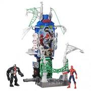 Spiderman - Set Spider-Man, Web City Daily Bugle Battle Playset