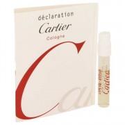 Cartier Declaration Cologne Vial (Sample) 0.05 oz / 1.48 mL Men's Fragrances 537054
