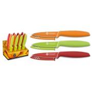 12 Couteaux de table cuisine - Couleur design couteau