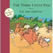 The Three Little Pigs/Los Tres Cerditos, Paperback