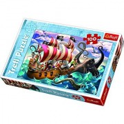 Trefl Battle on The Sea Puzzle (100 Piece)