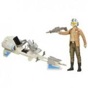 Star Wars Figurine avec véhicule Star Wars - Poe Dameron