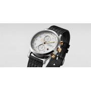 TRIWA Ivory Lansen Chrono Watch Black
