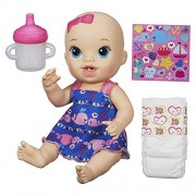 Baby Alive Sips 'n Cuddles Doll little whales dress (Blonde) by Hasbro