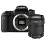 Aparat Foto DSLR Canon EOS 760D, 24.2 MP, obiectiv 18-135mm (Negru)
