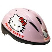 Hello Kitty 802068 Half shell casco para bicicleta - cascos para bicicleta (Fijo, Chica, Multicolor, Half shell)