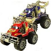 Friction Powered Big Wheel Trucks Big Wheel Monster Semi Truck. Toy:29
