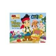 Disney Walt Jake Y Los Piratas: El Tesoro Pirata (libro Con Solapas)
