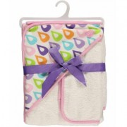 "Hudson Baby """"Droplets"""" Hooded Towel & Washcloth"