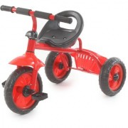 The Flyers Bay Easy to Roam Tricycle with Basket TFB-TriBaskRed