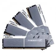 Memorie G.Skill Trident Z 32GB (4x8GB) DDR4 3200MHz 1.35V CL15 Dual Channel, Quad Kit, F4-3200C15Q-32GTZSW
