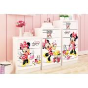 Comoda copii sertare late Shopping Minnie