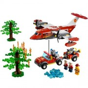 LEGO? CITY? Forest Fire Kids Playset w/ Plane & Truck & 3 Minifigures| 4209 by LEGO