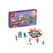 Lego Friends - Furgonetka z hot-dogami w parku rozrywki 41129