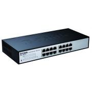 D-Link DES-1100-16 Managed L2 Black network switch
