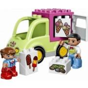 Set De Constructie Bebelusi Lego Duplo Furgoneta Cu Inghetata